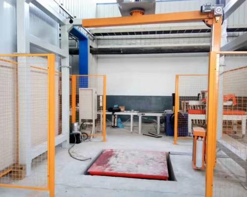 上海悬臂式缠膜机+剪叉式升降平台