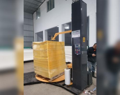 上海SL300SPS-YD自动预拉伸压顶型缠绕包装机